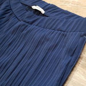NWT Zara Cropped Textured Style Pants Medium